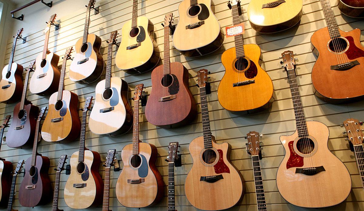 Guitar-wall