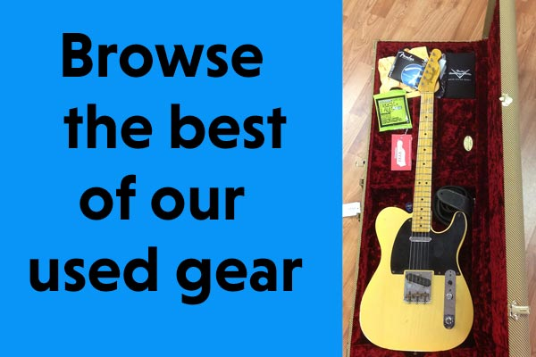 Browse our uded gear