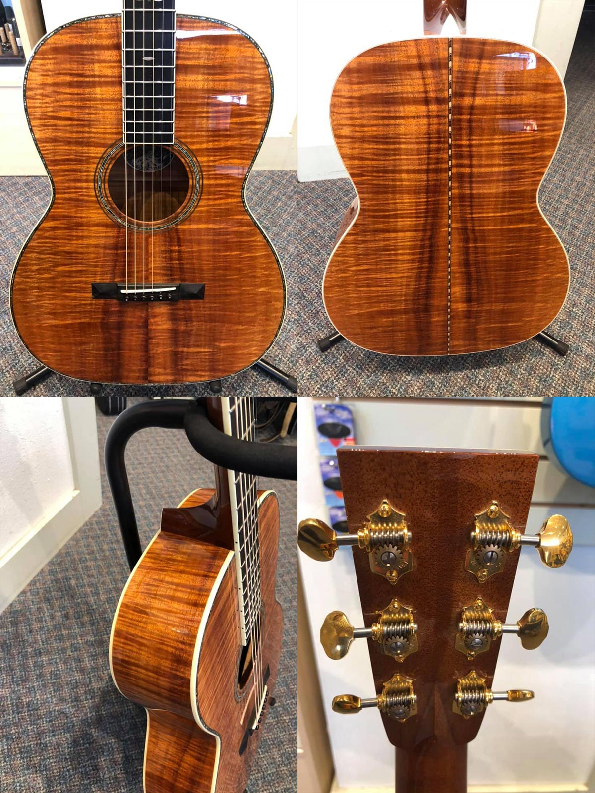 Pre-Owned all Koa Collings 000-41