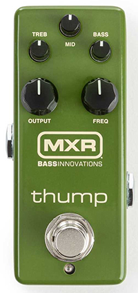 MXR® THUMP™ BASS PREAMP