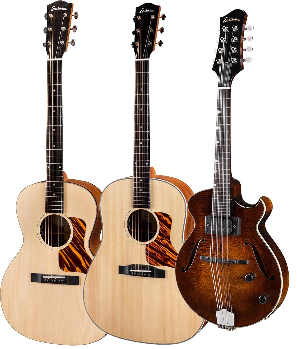 New Eastman Traditional limited  Series and new  El Rey Electric Mandolin