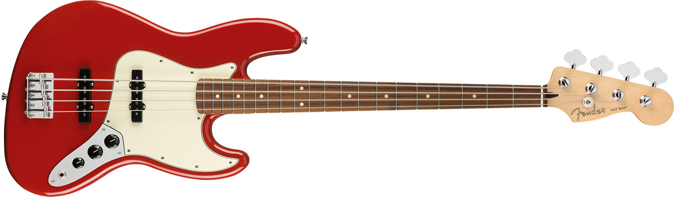Fender Player Player Jazz Bass, Pau Ferro Fingerboard, Sonic Red