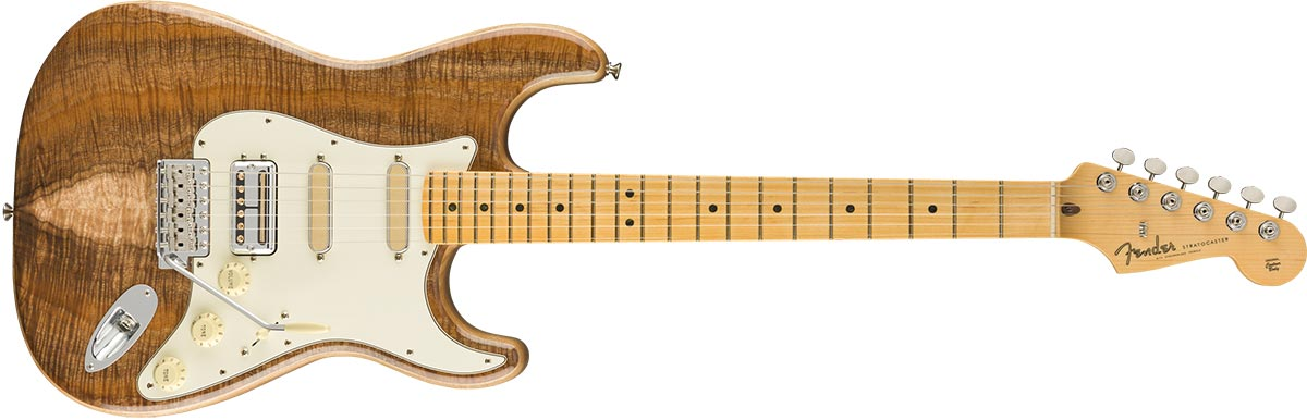 Rarities Quilt Maple Top Stratocaster