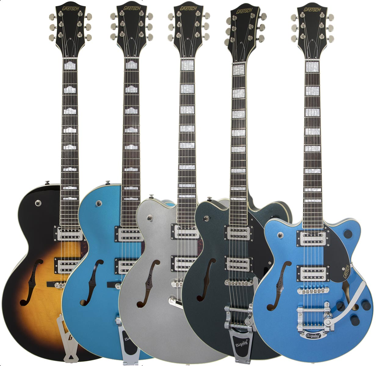Check out he New Gretsch Streamliner Series