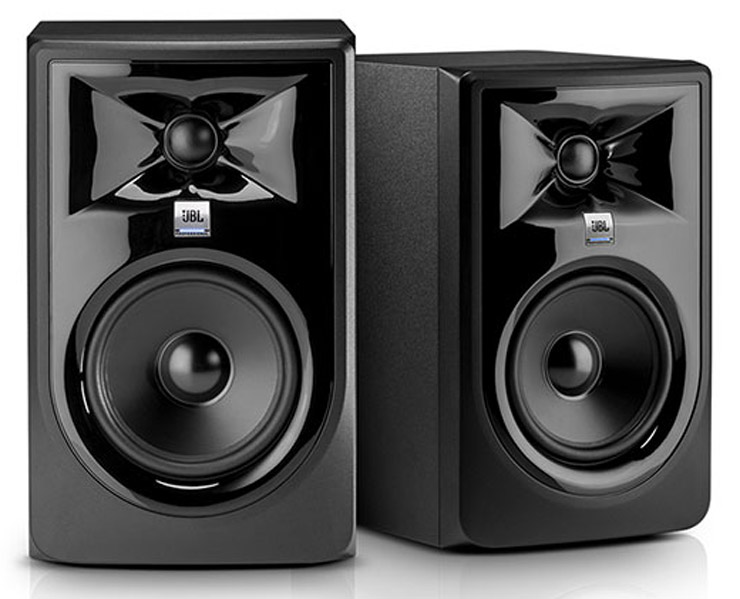JBL LSR305 MKII Powered Studio Monitors
