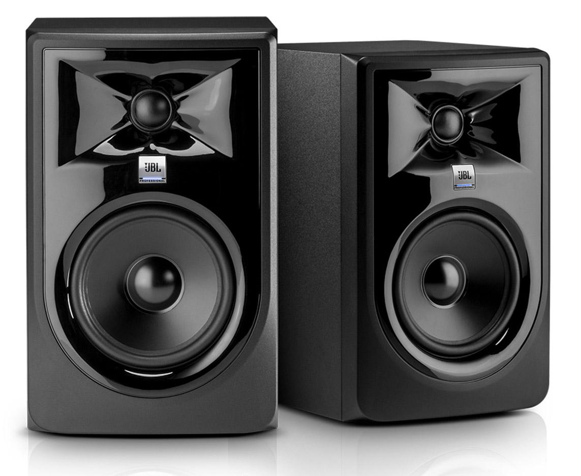 JBL 308 Powered Studio Monitors