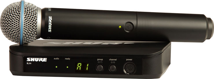 Shure BLX24/B58 Wireless System with handheld Beta 58