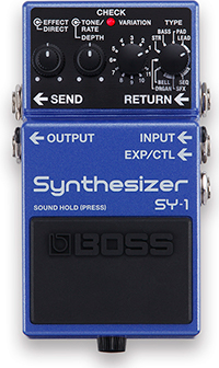 BOSS SY1 Synth Pedal