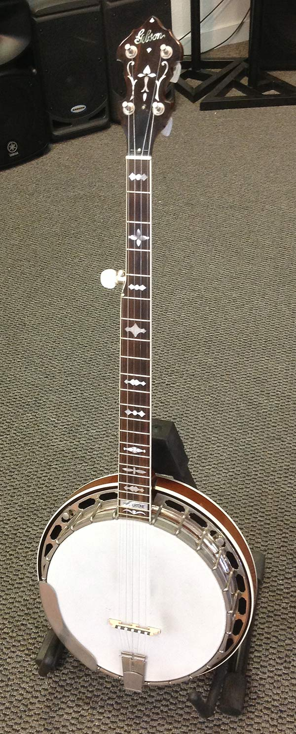 Used Gibson RB3 Mastertone Banjo, with original case